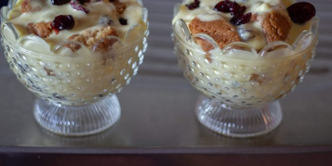 Cranberry Biscotti Tiramisù is my take on a classic recipe and is right up there with delicious Italian Christmas cookies and holiday desserts