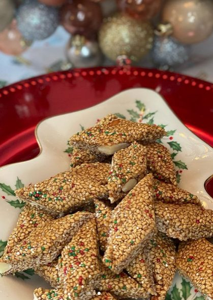 Giurgiulena, one of the top Italian christmas cookies and holiday desserts
