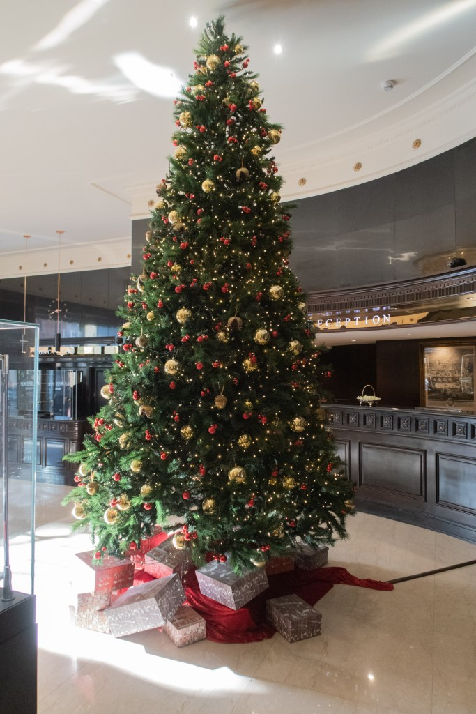 Hassler Hotel tree Christmas Rome 2020