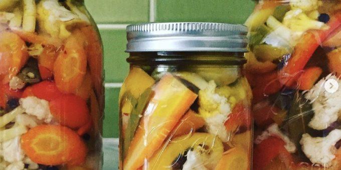 Domenica Marchetti and Abruzzo Food - from her cookbook Preserving Italy