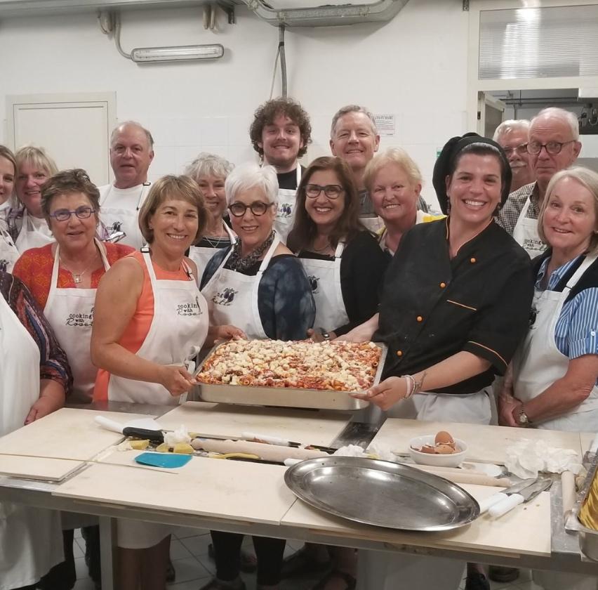 Rosetta teaches food of Calabria cooking classes