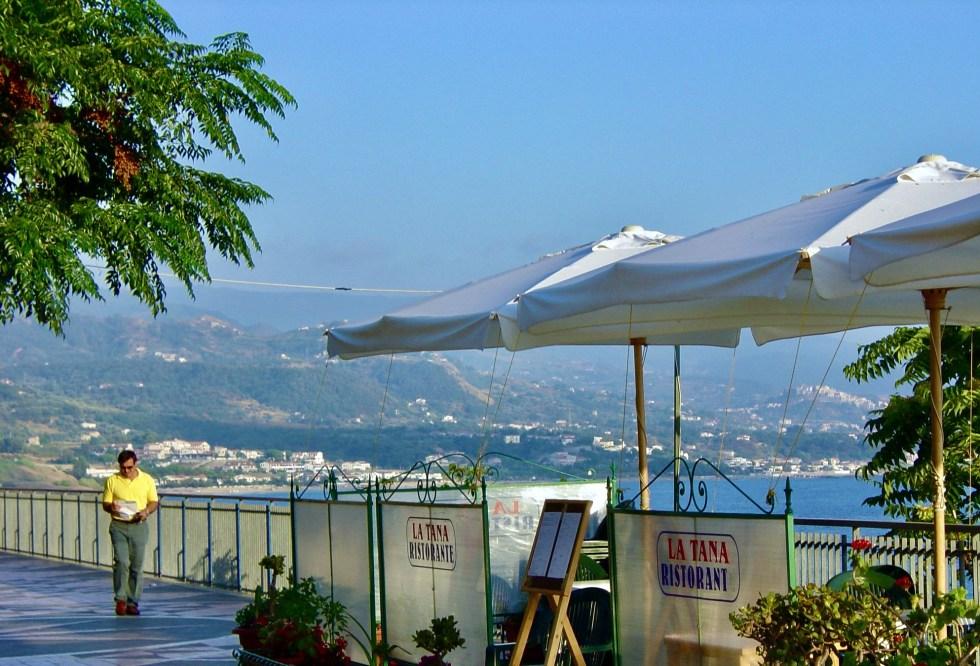 Diamante Calabria seaside stroll