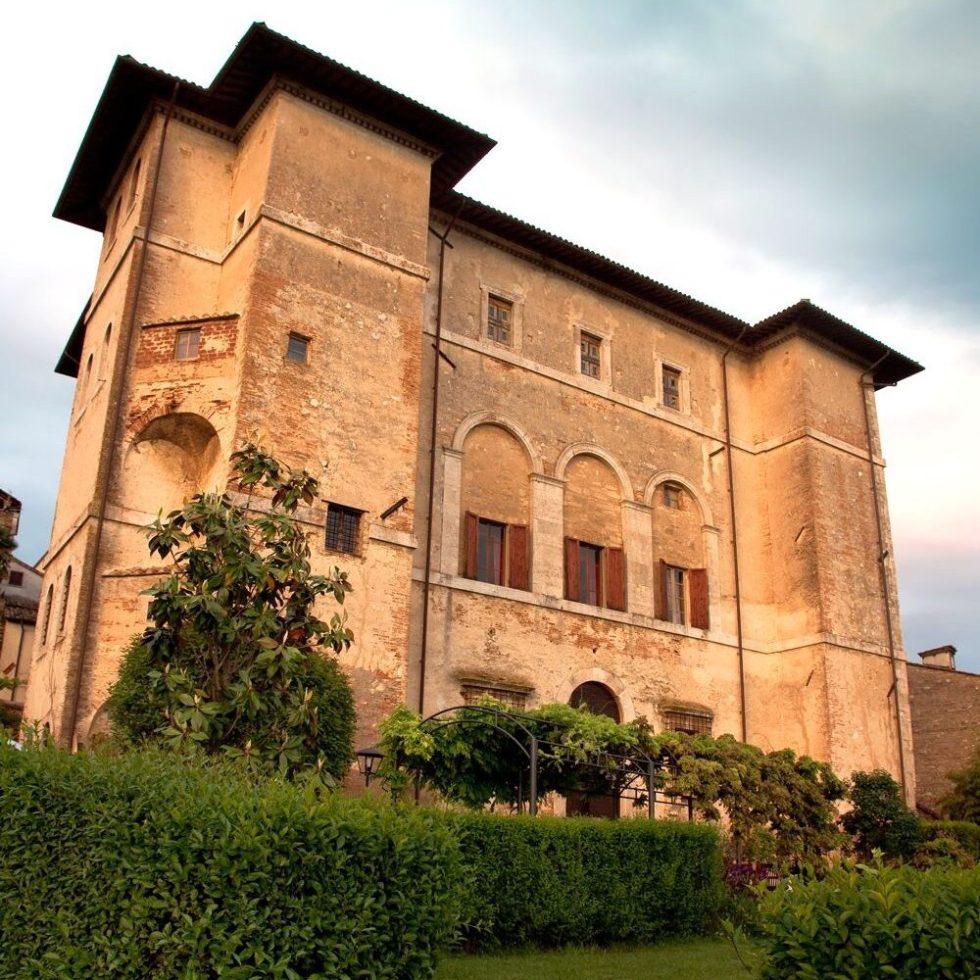Palazzo Farrattini in Amelia, Umbria