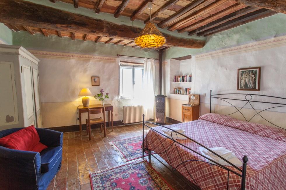 Spannocchia accommodation