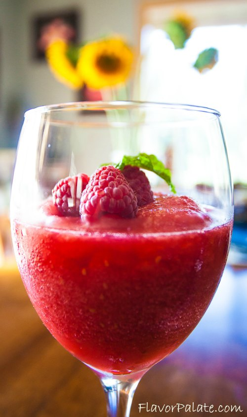 Pineapple Raspberry Cooler