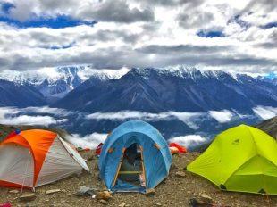 vacanza in campeggio
