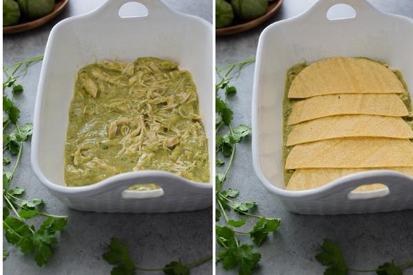 chicken-verde-enchilada-bake-process-collage1