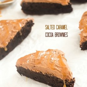 salted caramel cocoa brownies1
