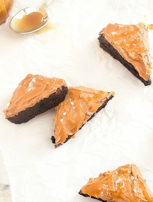 salted caramel cocoa brownies5