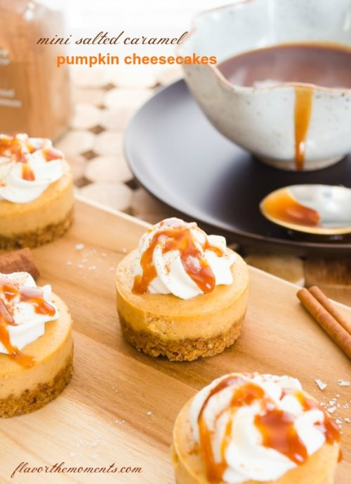 mini-salted-caramel-pumpkin-cheesecakes1 flavorthemoments.com