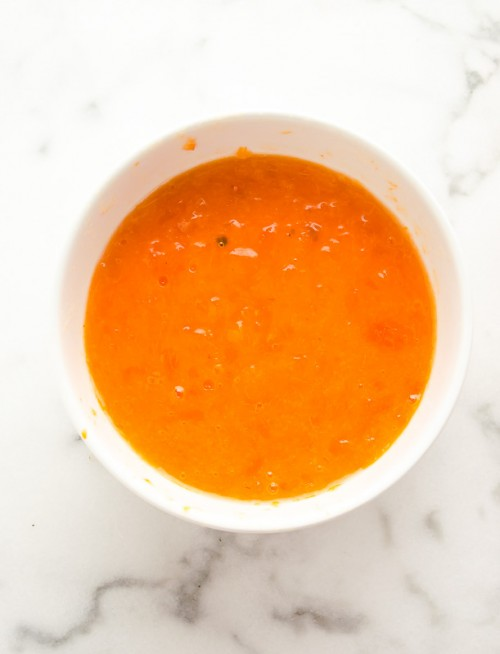 hycinth persimmon puree