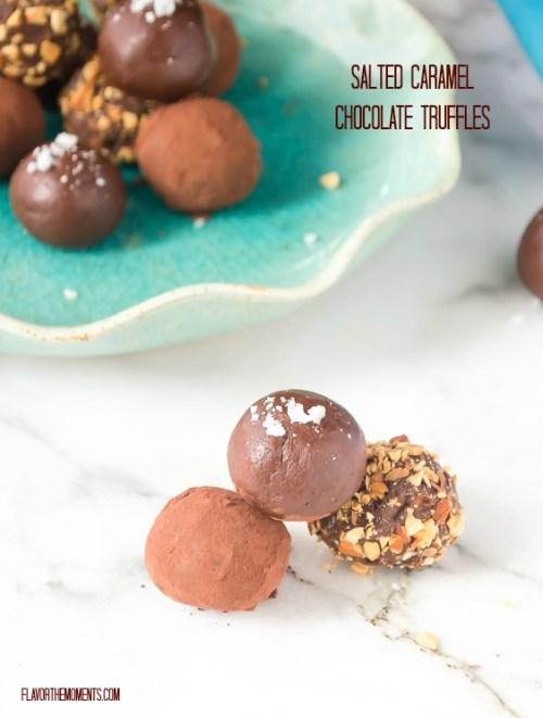 salted-caramel-chocolate-truffles1 | flavorthemoments.com