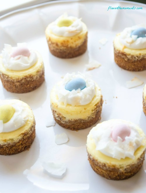 mini-coconut-cream-cheesecakes2 | flavorthemoments.com