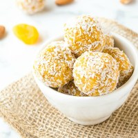Apricot Almond Coconut Energy Bites