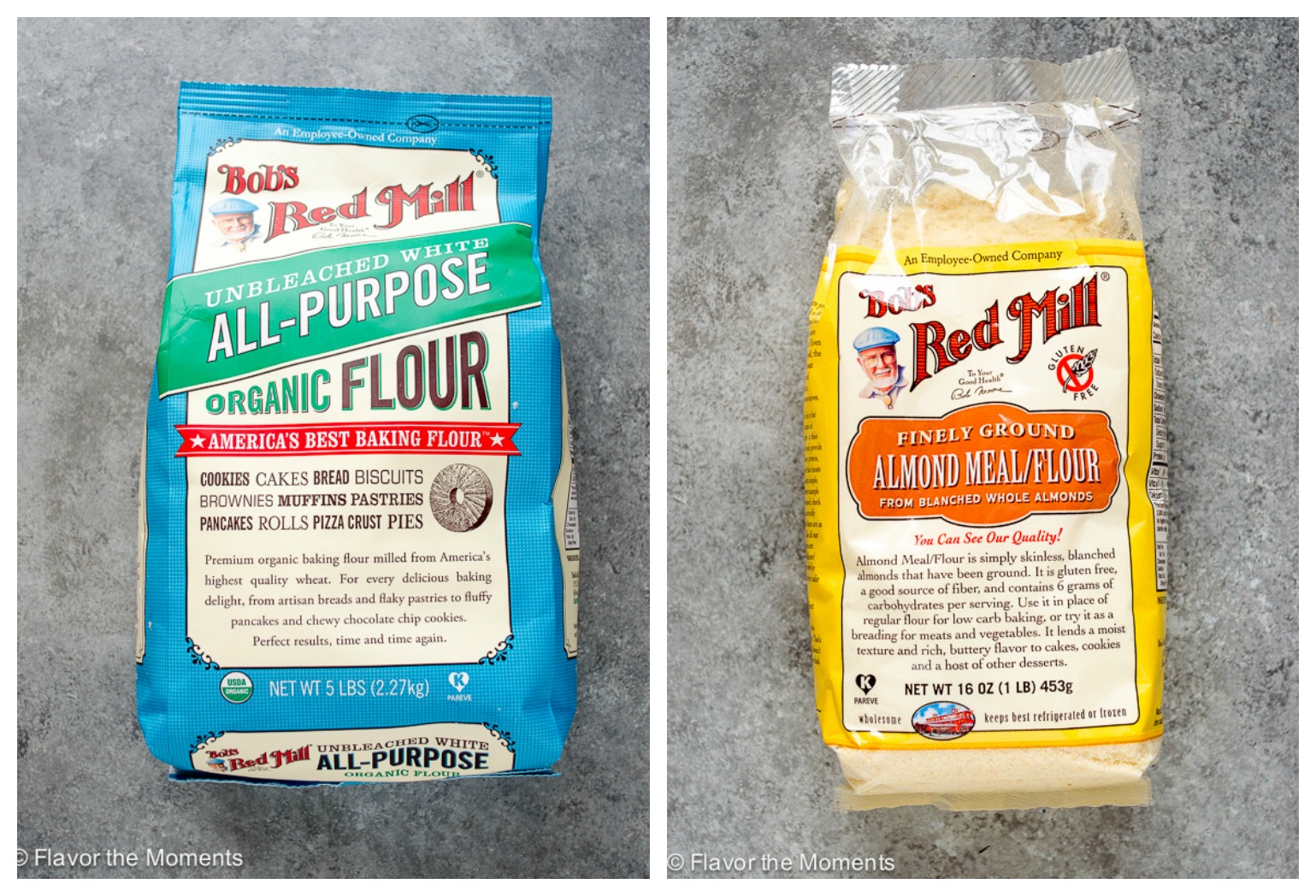 Bob's Red Mill All Purpose Flour and Almond Meal