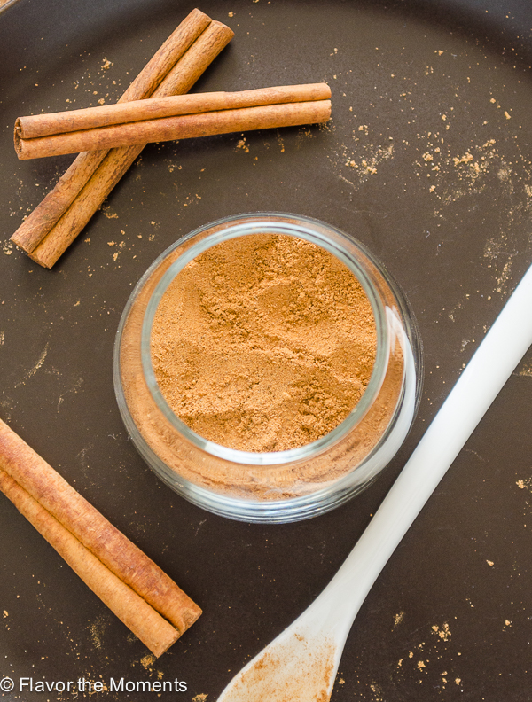 Homemade Chai Spice Mix is a warm spice blend inspired by chai tea. It's a
