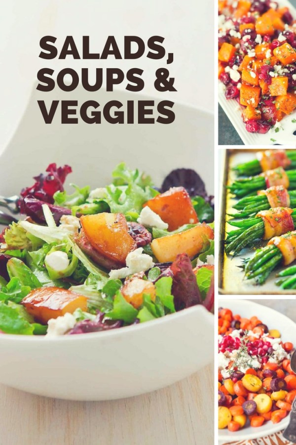 Ultimate Thanksgiving Salads, Soups and Veggies