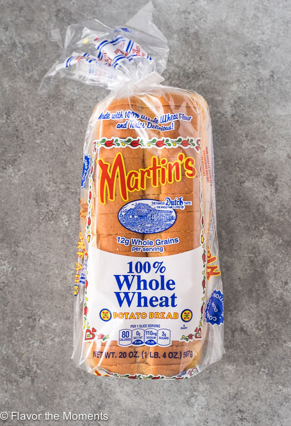 Martin's 100% Whole Wheat Potato Bread