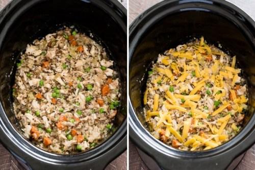 easy-crockpot-chicken-wild-rice-process-collage2-flavorthemoments