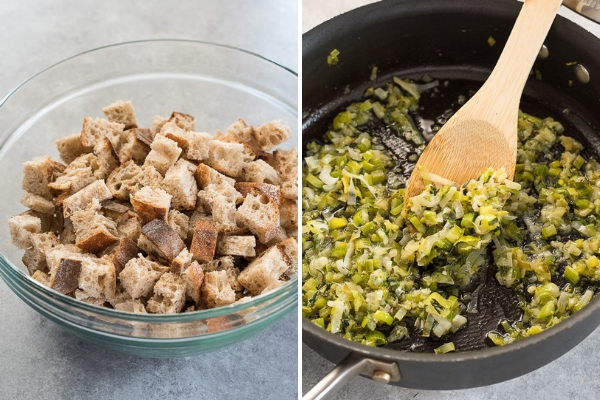easy-slow-cooker-stuffing-process-collage-1-flavorthemoments