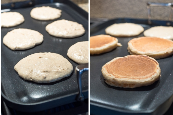 fluffy-greek-yogurt-pancakes-process-collage-flavorthemoments