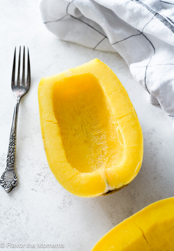 How to Cook Spaghetti Squash is an in depth guide on how to cook spaghetti squash in the Instant Pot, microwave, or bake it in the oven!