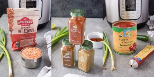 instant-pot-vegetarian-taco-lentil-chili-process-collage-flavorthemoments