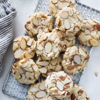 Greek Almond Cookies (Amygdalota)