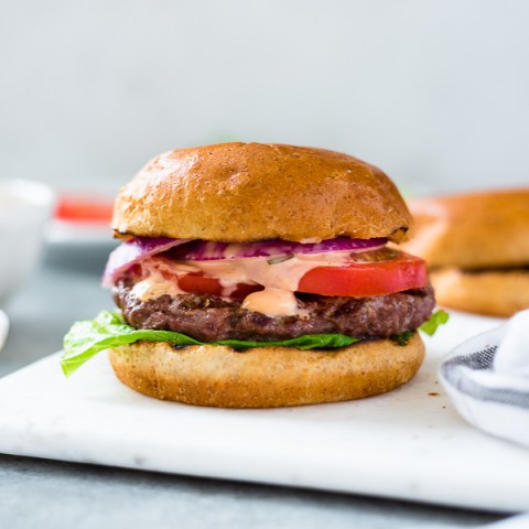 Classic Grilled Burgers