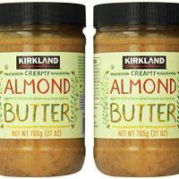 Kirkland Signature - Creamy Almond Butter, 27 Ounce - 2 Jars