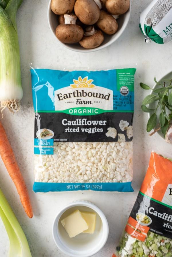 Earthbound Farm Organics Cauliflower Riced Veggies