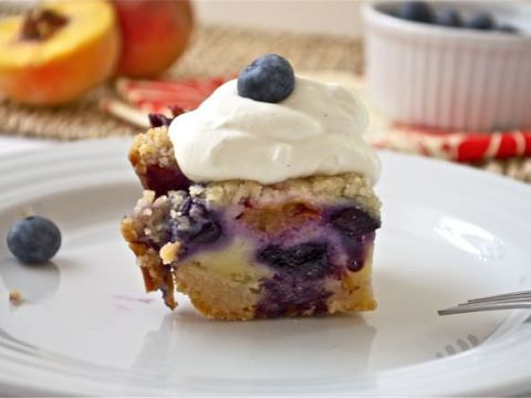 Blueberry Peach Pie Bars Flavor The Moments