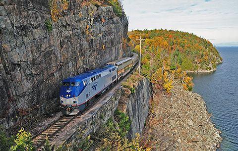 The Amtrak Adirondack