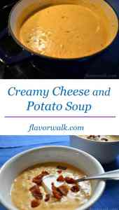 Creamy Cheese and Potato Soup, Cheese and Potato Soup, Cheese Soup, Potato Soup, Creamy Soup