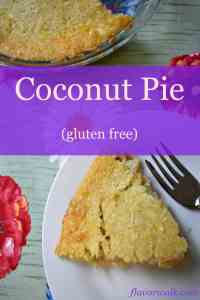 quick and easy gluten free coconut pie, gluten free coconut pie, coconut pie