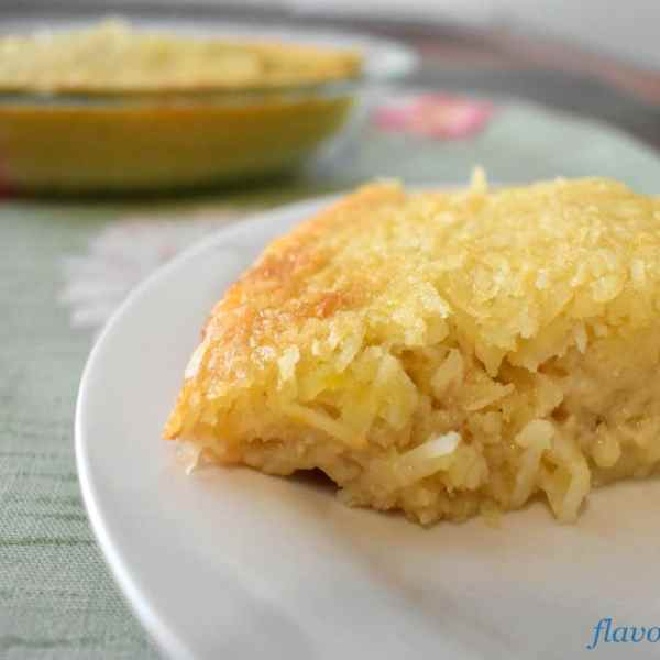 Quick and Easy Gluten Free Coconut Pie