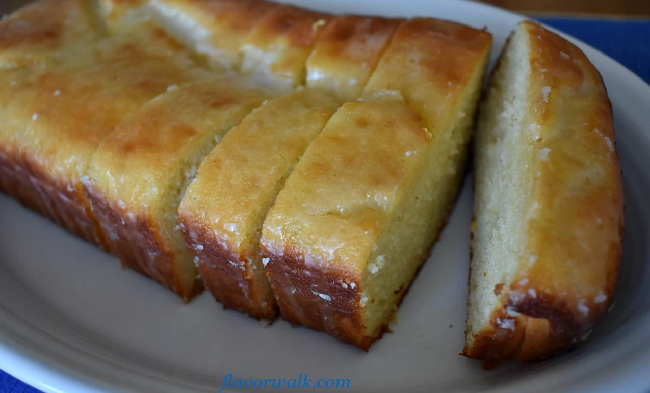 Lemon Loaf Cake with Lemon Glaze is light, moist and lemony. A delicious lemon dessert with the perfect balance of sweet and tart!