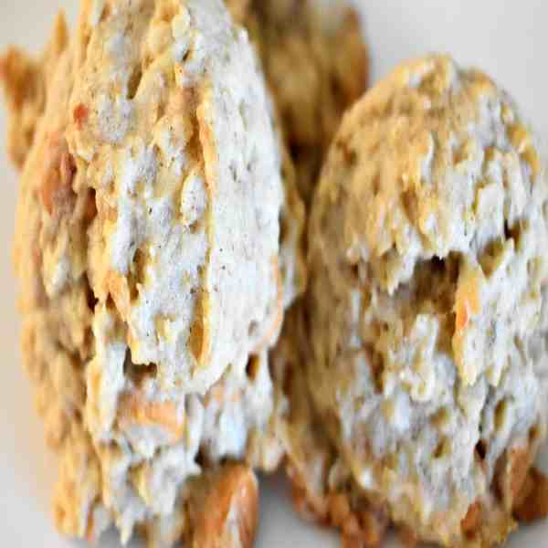Toasted Coconut Butterscotch Oatmeal Cookies