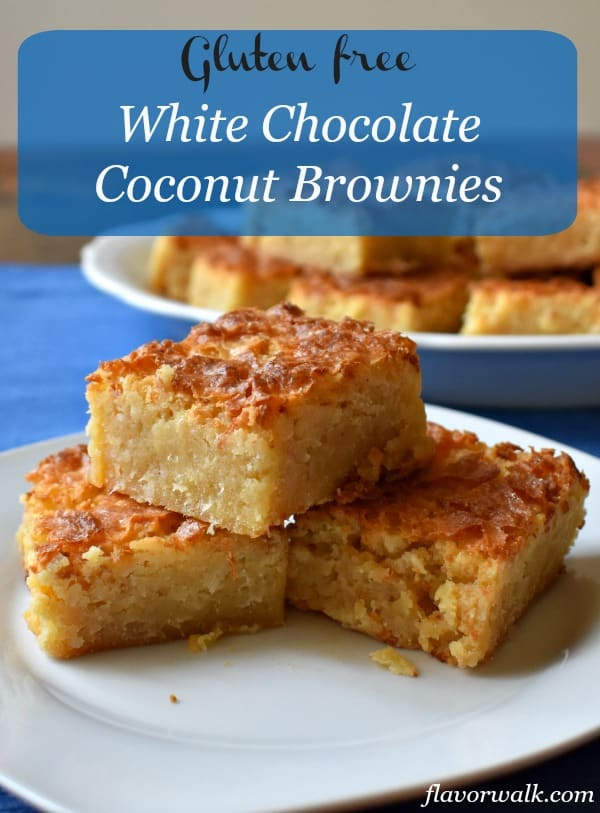 White Chocolate Coconut Brownies are the perfect blend of chewy coconut and sweet white chocolate. They're fudgy on the inside, crispy on top, and over all melt-in-your-mouth delicious!