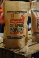 Soapnut powder in laundry tabs… ultimate convenience