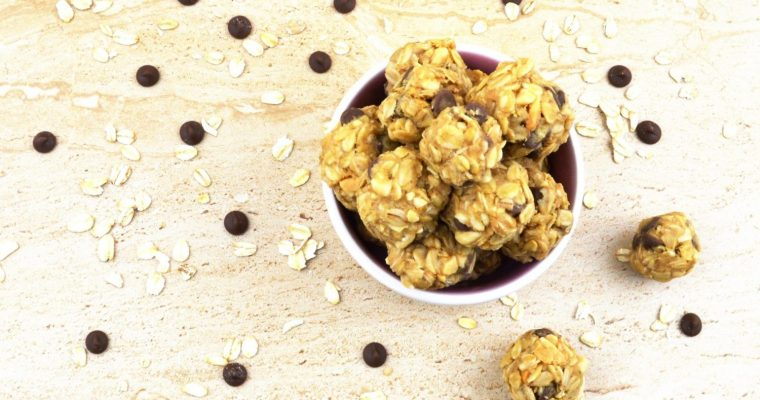Oatmeal Energy Balls (Vegan & no bake recipe + Video)