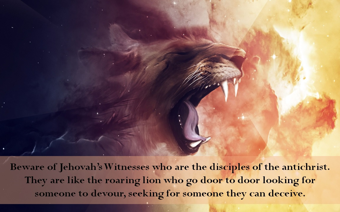 Do not be Deceived by Jehovah's Witnesses – Eternity with