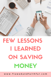 Few Lessons I Learned on Saving Money
