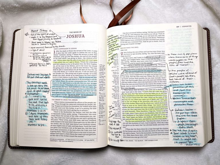 Bible Study on Joshua: Summary of the Book of Joshua by Chapter