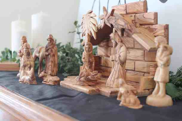 Olive Wood Nativity