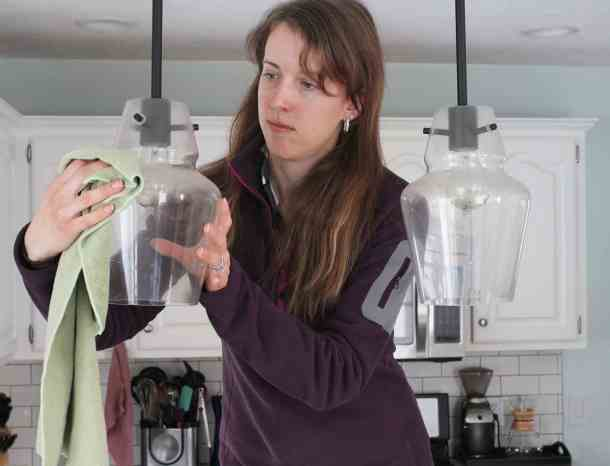 Clean Kitchen Pendants