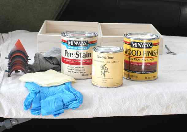 wood tray finishing products