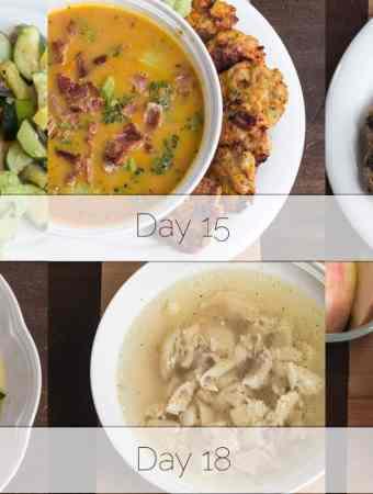Autoimmune Protocol Week 3 Dinners