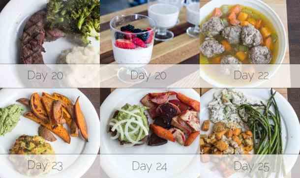 Autoimmune Protocol Dinners