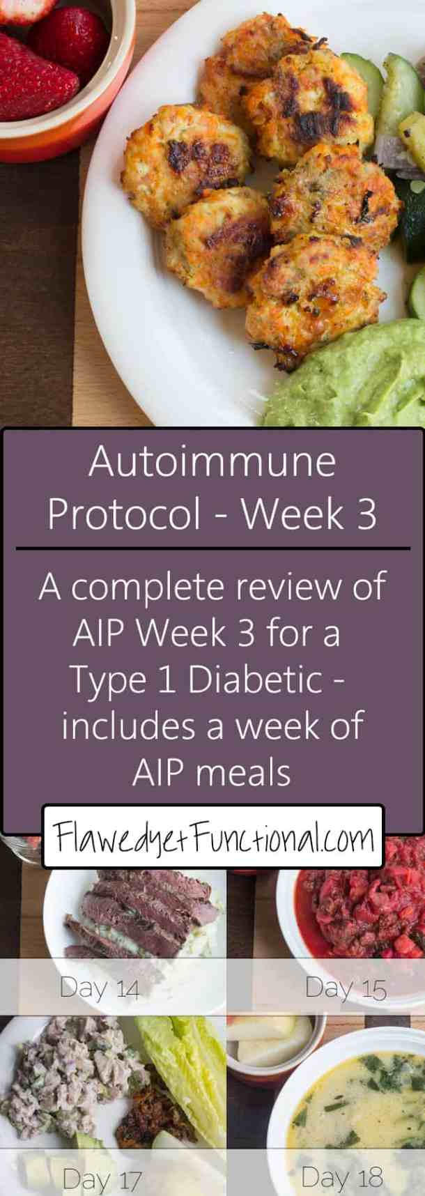 Autoimmune Protocol Week 3 Review